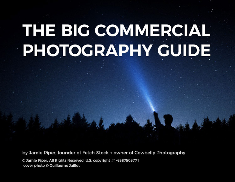 commercial photography guide by fetch stock